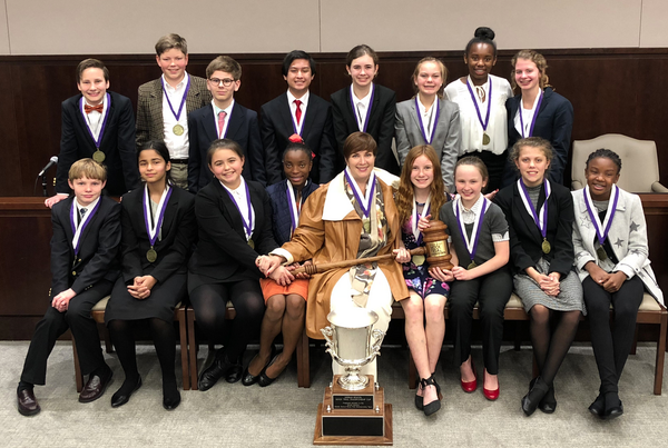 Heathwood Hall Episcopal School wins Middle School Mock Trial