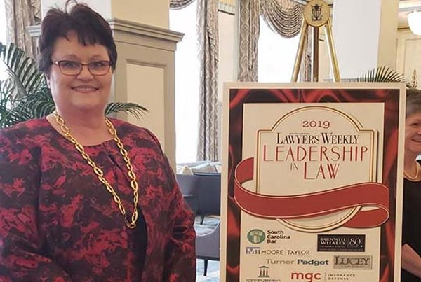 Cindy Coker receives leadership recognition