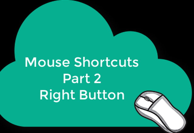 Right Button Tips and Tricks