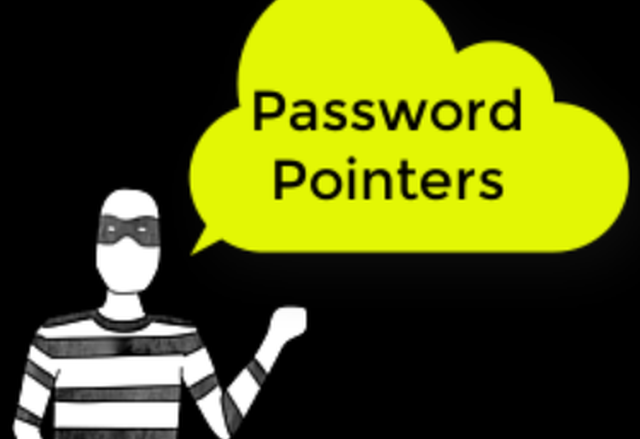 Password Pointers: Using Passphrases instead of Traditional Passwords