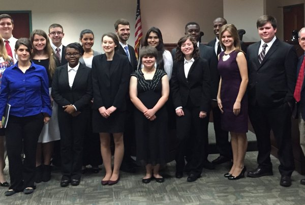 High School Students Prepare for Regional SC Bar Mock Trial Competitions