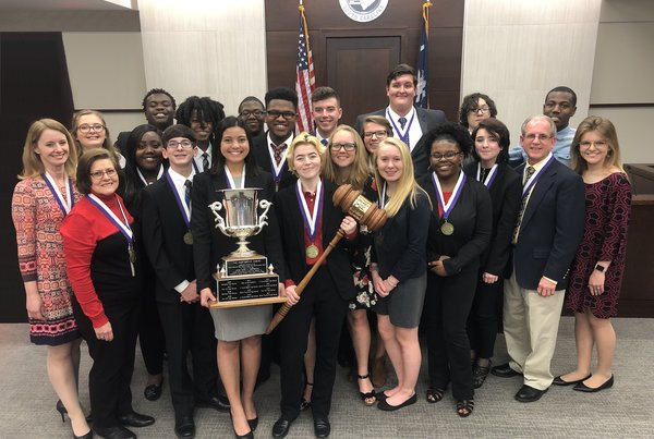 Strom Thurmond High School wins High School Mock Trial